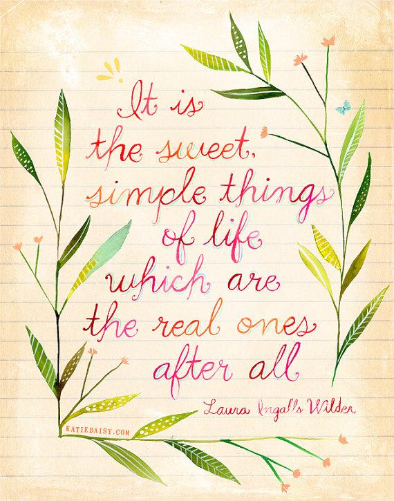 sweet simple