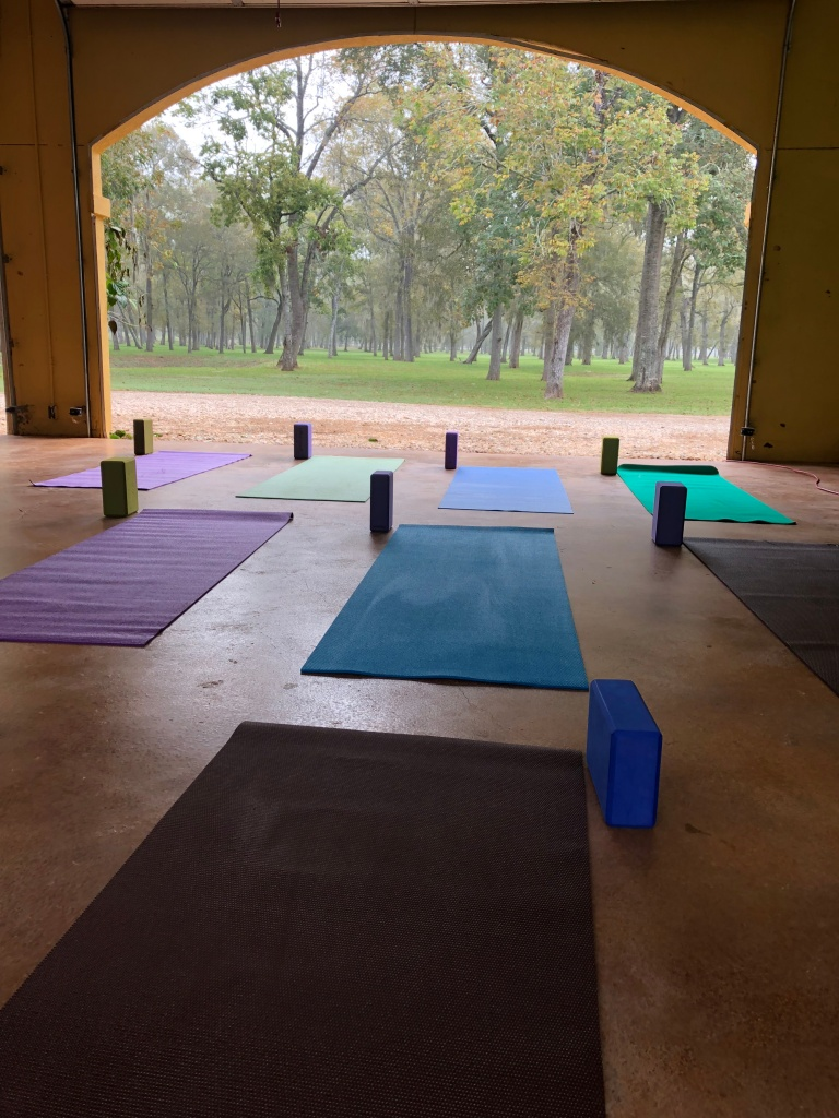 Elm Flats Ranch Yoga Caregivers Wellness Retreat Alzeimer's Houston, TX