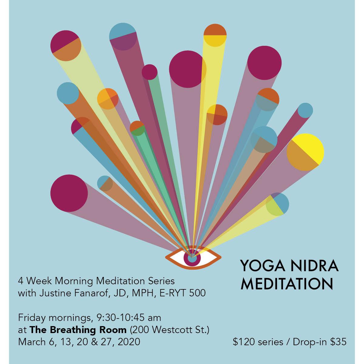 Yoga Nidra Mediation Houston Relaxation Creativity Breathe Breath The Breathing Room Justine Fanarof Meditation