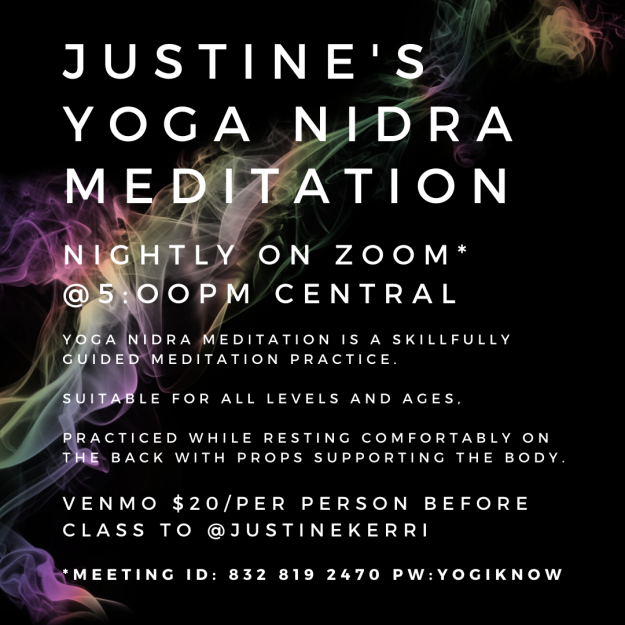 Justine's Yoga Nidra B light