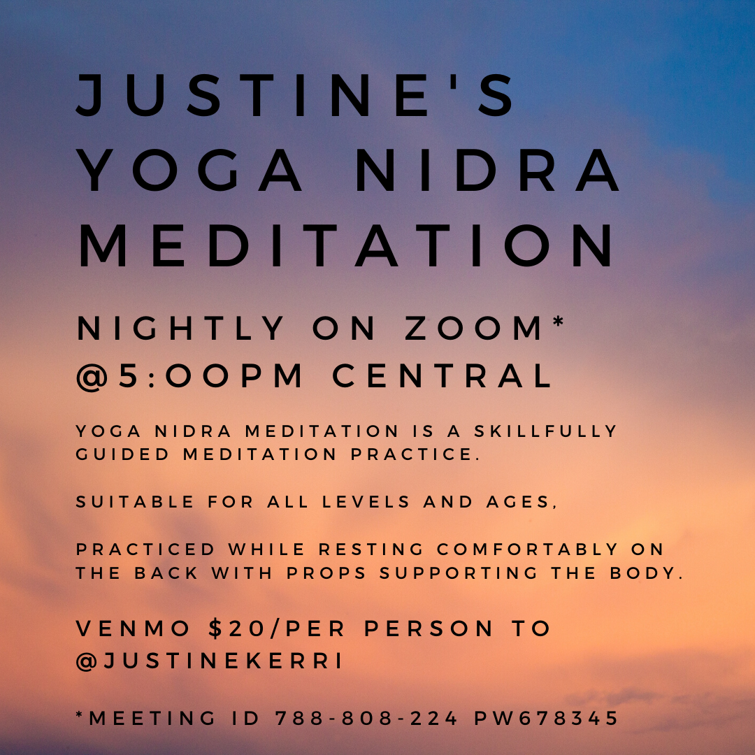 yoga nidra meditation anxiety relaxation justine fanarof